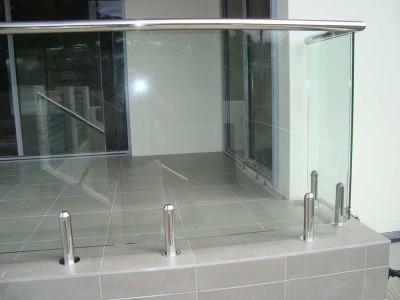 Design 12 Mini Post Frameless Glass Balustrades