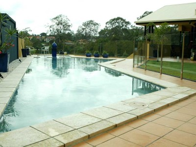 Glass Pool Fencing Semi Frameless Design 8