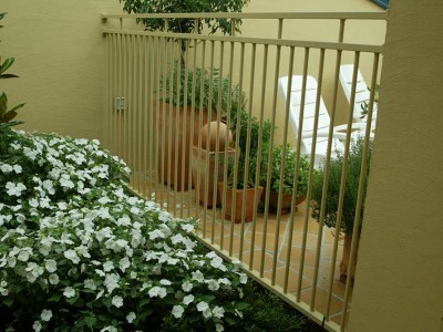 Grevillea Powder Coated Fencing