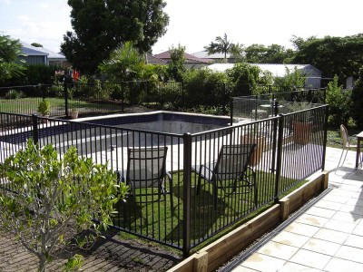 Melaleuca Powder Coated Fencing